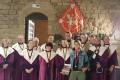 Intronisation de Nathalie SIMON à l'échansonnerie des Papes